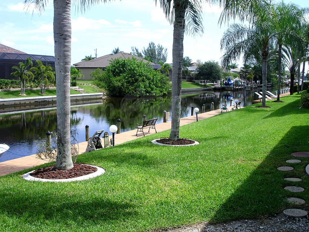 View Down the Canal From Calypso Cove